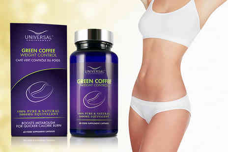 Universal Contour Wrap - One month supply of green coffee 'weight control capsules - Save 76%
