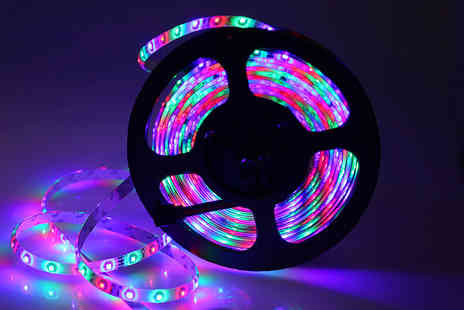 Chimp Electronics - Five metre LED strip light - Save 63%