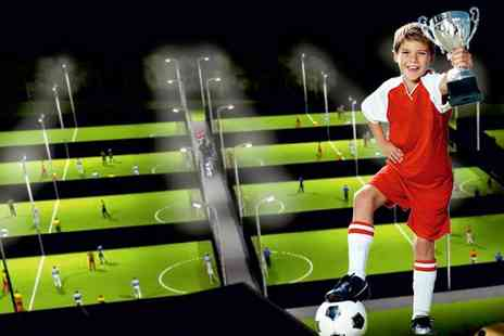 Goals Soccer Centres - Football Birthday Party For Up to Ten Children - Save 59%