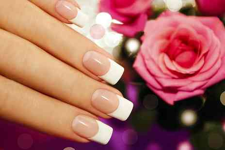 Cyan Beauty - Acrylic or Gel Nail Extensions - Save 58%