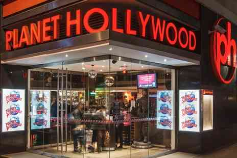 Planet Hollywood - Planet Hollywood Experience for Two - Save 50%