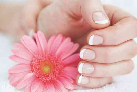 Andreea's Nails - Shellac Manicure or Perdicure or Both  - Save 63%