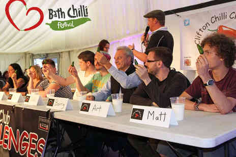 University of Bath - One Tickets to the Bath Chilli Festival - Save 0%