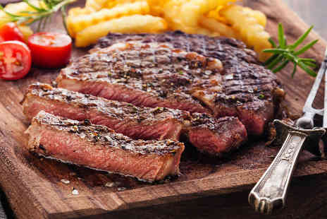 The Compass Rose - Steak Meal with Wine   - Save 44%