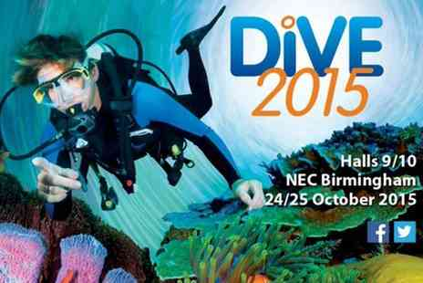 The Dive Show  - One ticket to Dive 2015 on 24th or 25th October  - Save 37%