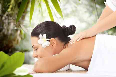 Calise Beauty -   90 minute  detox full body massage and Tropic facial with a cup of  detox tea   - Save 0%