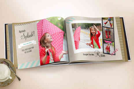 TRUPRINT - A Choice of a 50 Page Photobook with a Personalised Cover - Save 68%