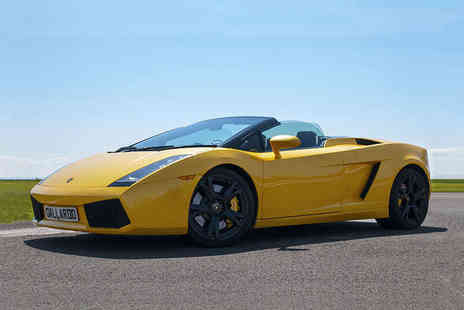 Supercar Test Drives - Three Laps Supercar Driving Experience  - Save 67%