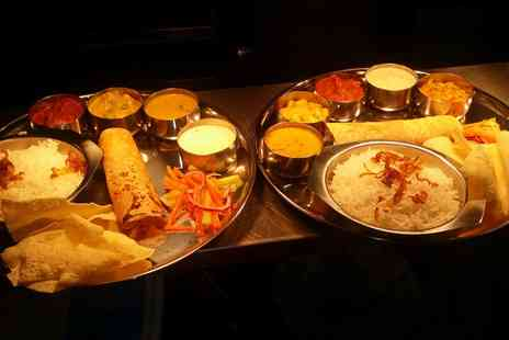 Food Nation - Five Dish or Two Course Indian Lunch for Two - Save 37%