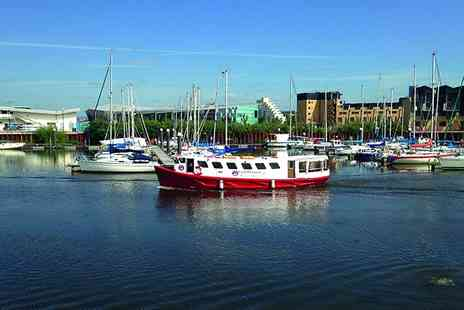 Cardiff Cruises - Tour of Cardiff Bay for Two - Save 50%