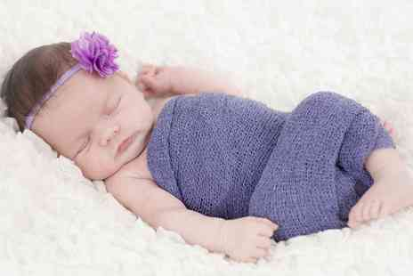 Lavern Washington Photography - Newborn or Baby Photoshoot with Prints and Keyrings - Save 0%