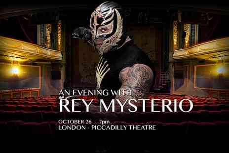 Wrestling Shop - One Ticket to An Evening With Rey Mysterio Jr.  - Save 48%