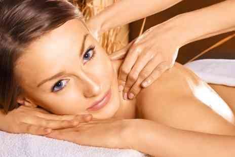 Essential Spa - Aroma Facial with Scalp and Swedish Back Massages - Save 75%