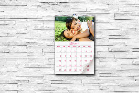 2M Print - 2016 Personalised A4 Wall Calender - Save 71%