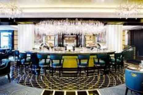 The Savoy - The Savoy 5 star champagne dinner for two - Save 0%