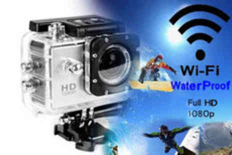 J&Y - AdventureProPlus waterproof 1080p HD camera plus delivery - Save 0%