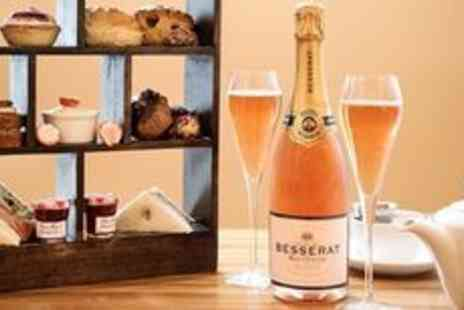 Hilton Hotel -  Pink champagne afternoon tea for two - Save 0%