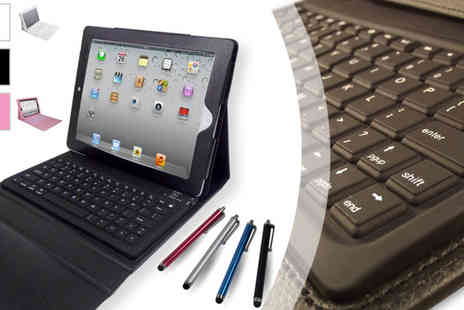 Bibi International  - Apple iPad Leather Keyboard - Save 78%