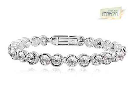 AthenaFashion E-Store - Shimmering Plated Tennis Bracelet - Save 86%