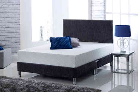 One Holding  -  CoolBlue Memory Foam Mattress Plus Pillows - Save 64%