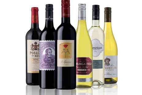 The Sunday Times Wine Club - A Six Bottle Case of Red, White or Mixed Wines - Save 45%