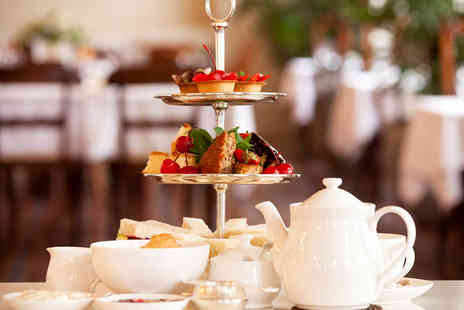 Belle Epoque - AA Rosette Art Nouveau Afternoon Tea with Champagne for Two - Save 47%