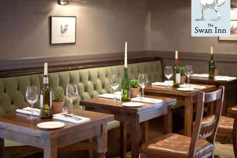 The Swan Inn - Starter, Main Course, and Glass of Prosecco Each for Two   - Save 49%