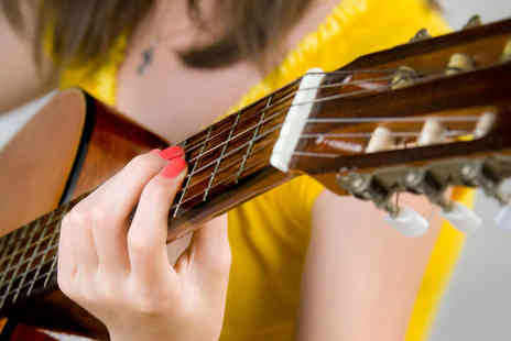 Belfast Music Academy - Two Guitar, Piano, or Bass Lessons for up to Two - Save 82%