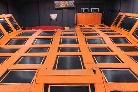 Jump Warehouse - One Hour Trampoline Park Access for One - Save 0%