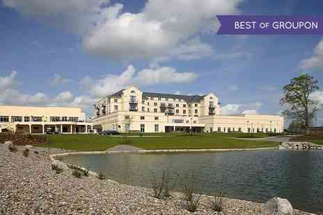 Knightsbrook Hotel - One or Two Nights stay For Two With Breakfast, Dinner And Spa or Golf - Save 48%