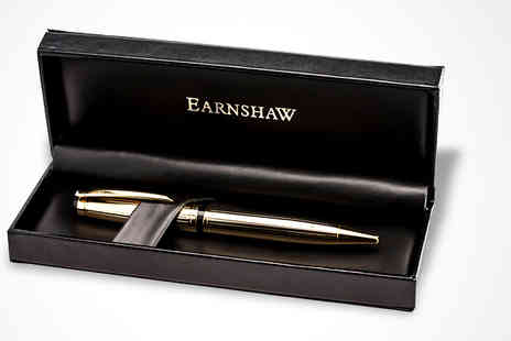 Dartmouth Brands - Earnshaw Gold Plated Pen - Save 78%