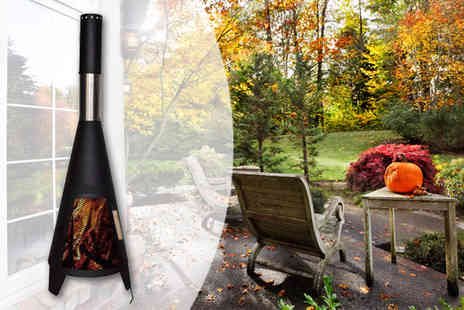 Plus Bee - Black Patio Chimenea - Save 0%