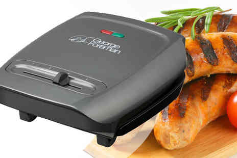Giddy Aunt  - George Foreman Three Portion Variable Temperature Grill - Save 47%