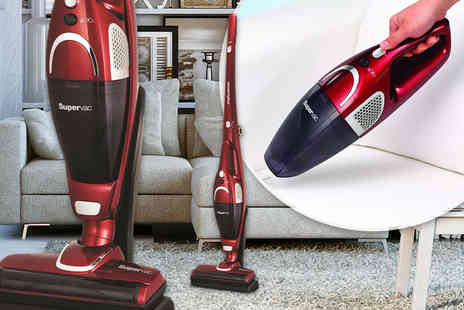 Electrics Warehouse -  2 in 1 Supervac cordless vacuum cleaner - Save 52%