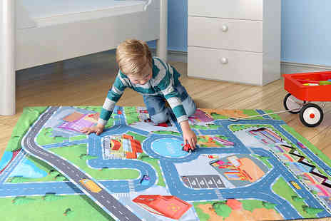 Dinkleboo - Personalised Kids Play Mats  Including Delivery - Save 67%