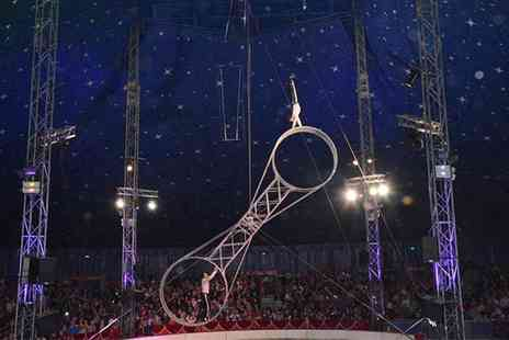 Gandeys Thrill Circus - Gandeys International Thrill Circus 23 - 27 October - Save 50%