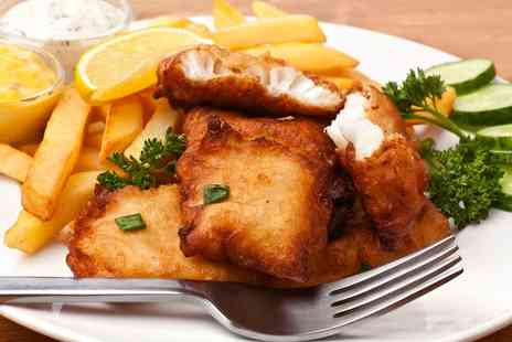 Bakewell Fish & Chips -  Fish and Chips for Two   - Save 40%