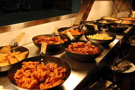 the buffet kitchen - All You Can Eat Indian and European Buffet For Two or Four - Save 49%
