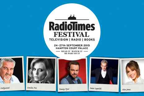 Brand Events - Two tickets to The Radio Times Festival - Save 63%