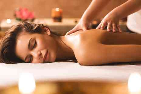 A Touch of Calm - Choice of a back massage and a facial  - Save 50%