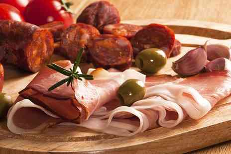Spaghetti Johns - Antipasto Platter with Prosecco for Two - Save 45%