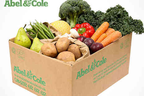 Abel & Cole - Four Medium Everyday Easy Fruit and Veg  Boxes With Bottle of Olive Oil and Cookbook Delivery Included - Save 51%