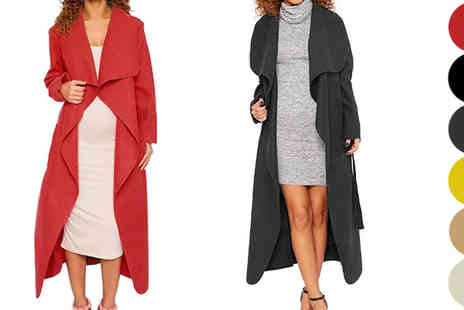 Nothing New 2 Wear - Celeb Style Waterfall Jacket - Save 78%