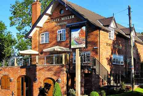 Wrenbury Leisure -  Nantwich Dinner for Two and Bubbly at Eighteen Century Mill - Save 47%