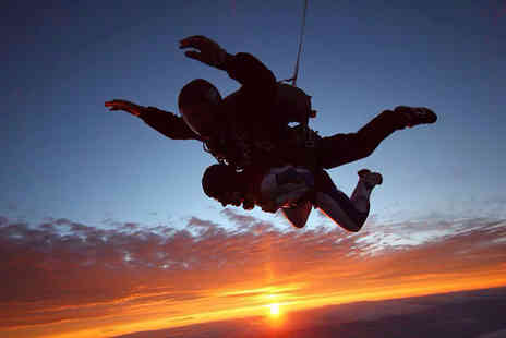 Skydive St George -  7,000 feet Ground Rush Special tandem skydive for One - Save 21%