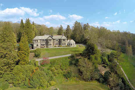 Lake District Country Hotels - Lake Windermere Manor Break with Cream Tea and Prosecco - Save 48%