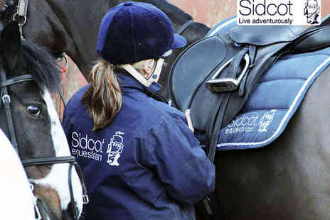 Sidcot Equestrian Centre - Hour Long Horse Riding Lesson for One or Two or Half Day Pony Club Activity Camp for Two Children  - Save 50%