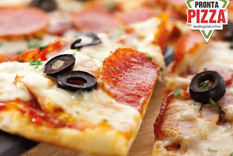 Pronta Pizza - 14 Inch Pizza - Save 50%