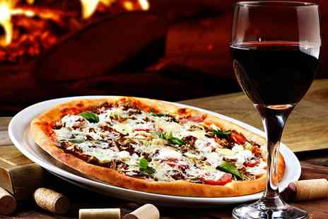Perfetto Food - Choice of Pizza with Glass of Prosecco for Two  - Save 59%