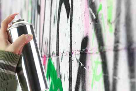 London West Bank - Two Hour Graffiti Class for One - Save 61%